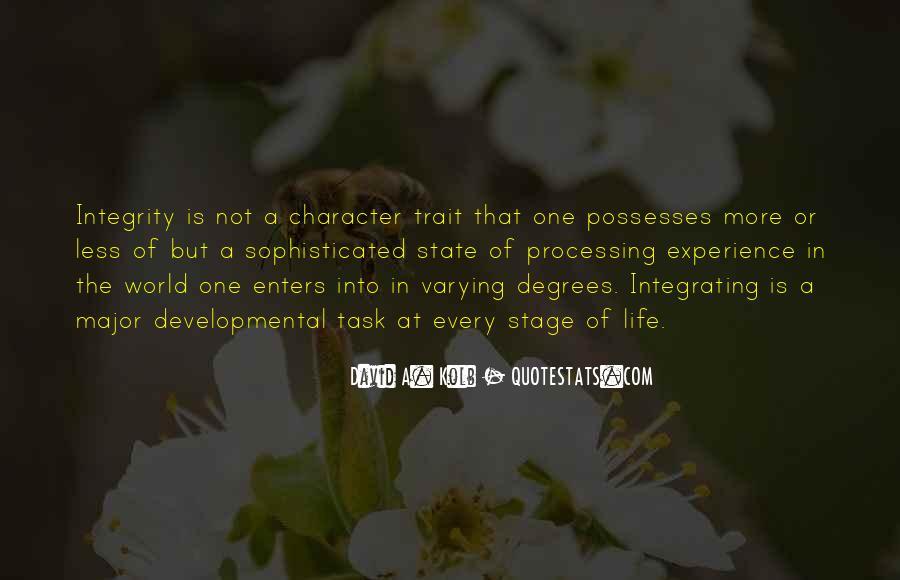 David A. Kolb Quotes #1033229