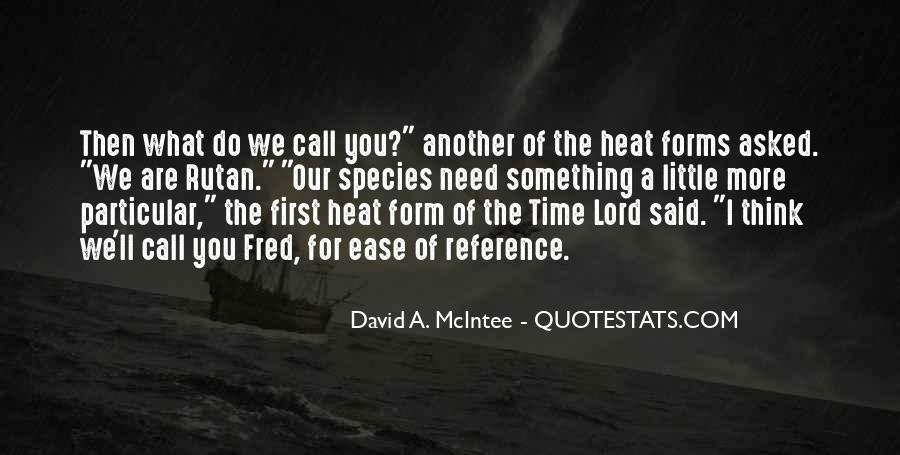 David A. McIntee Quotes #1860955
