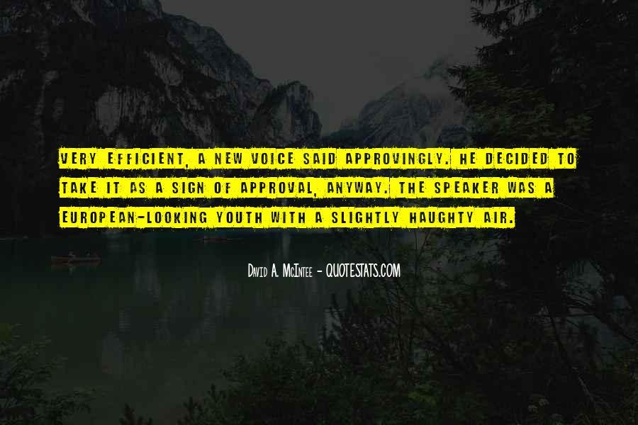 David A. McIntee Quotes #308310