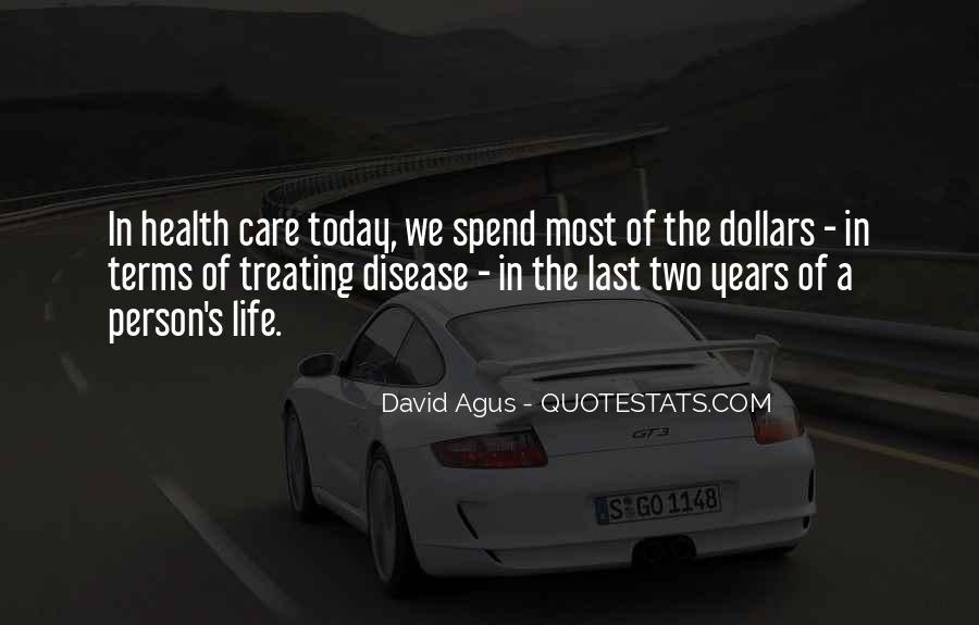 David Agus Quotes #830336