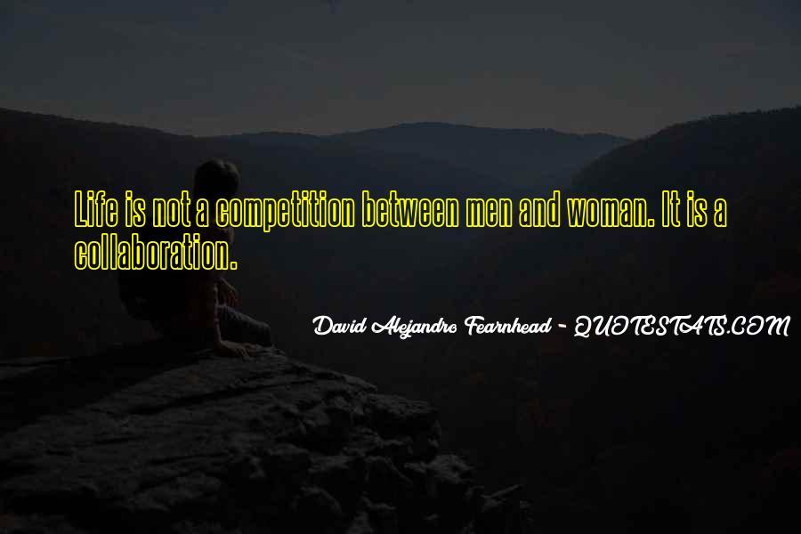 David Alejandro Fearnhead Quotes #1010179