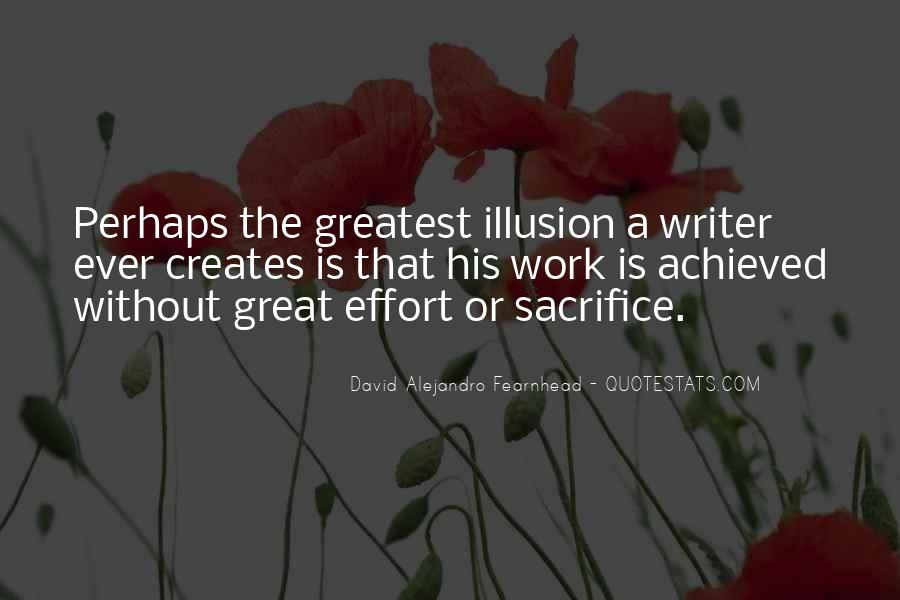 David Alejandro Fearnhead Quotes #1651994