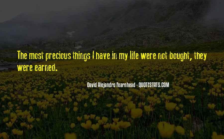 David Alejandro Fearnhead Quotes #287993