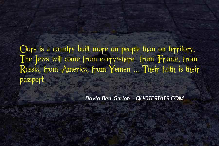 David Ben-Gurion Quotes #1116656