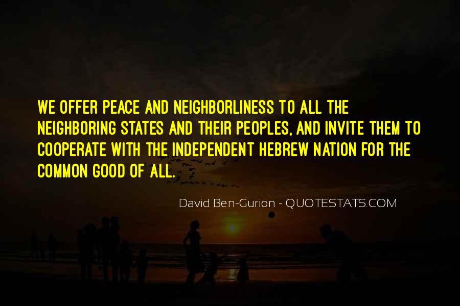 David Ben-Gurion Quotes #111744