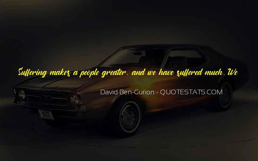 David Ben-Gurion Quotes #1125956
