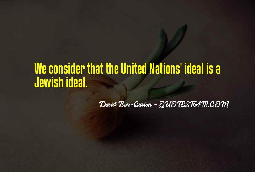 David Ben-Gurion Quotes #1793328