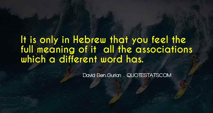 David Ben-Gurion Quotes #1876874