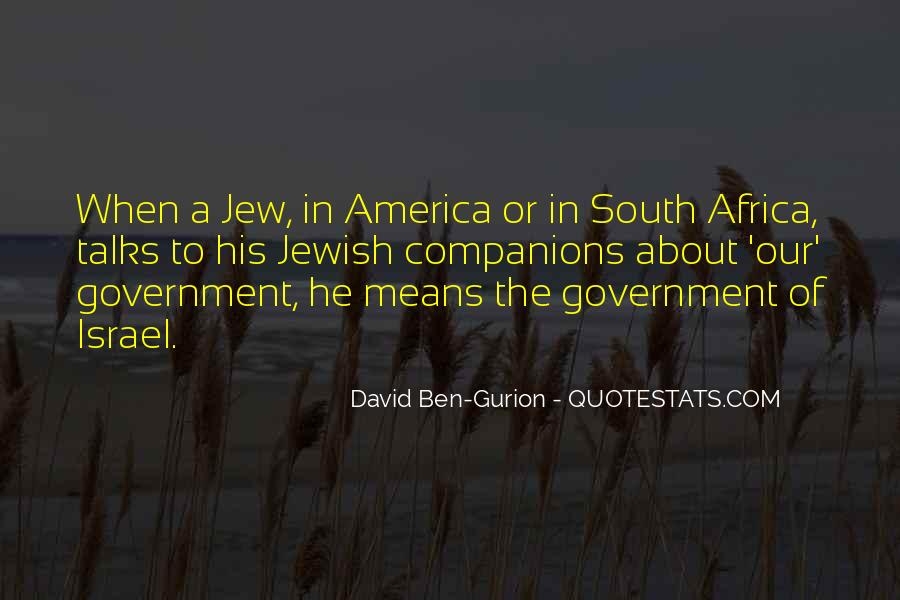 David Ben-Gurion Quotes #641246