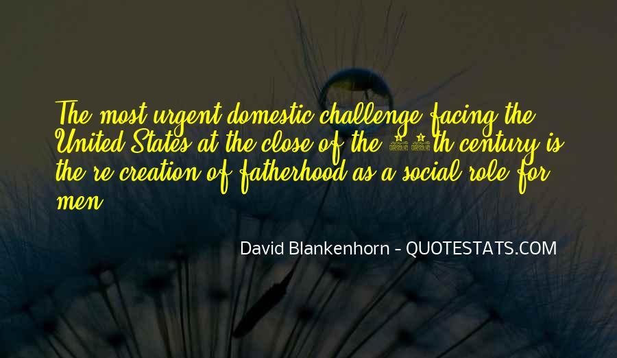 David Blankenhorn Quotes #1083397