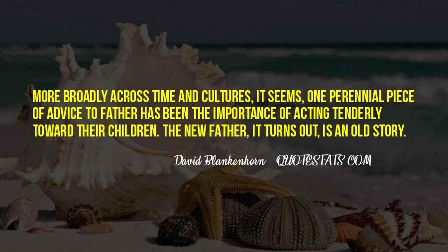 David Blankenhorn Quotes #219325