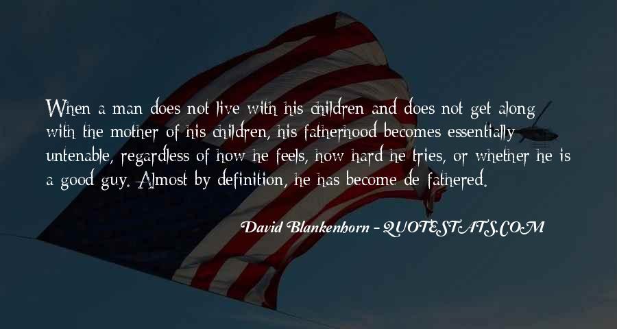David Blankenhorn Quotes #460646