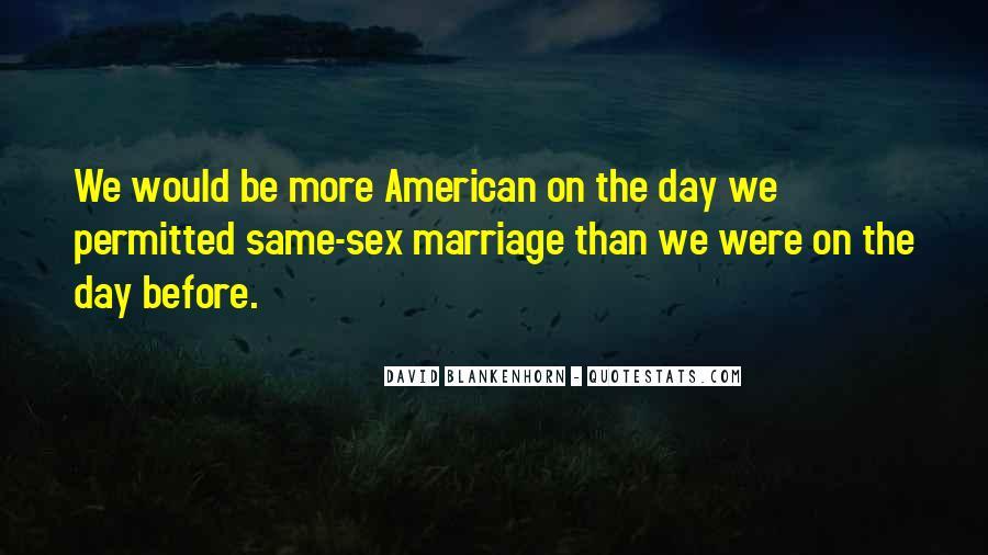David Blankenhorn Quotes #703395