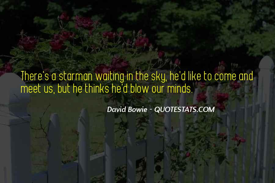 David Bowie Quotes #1078932