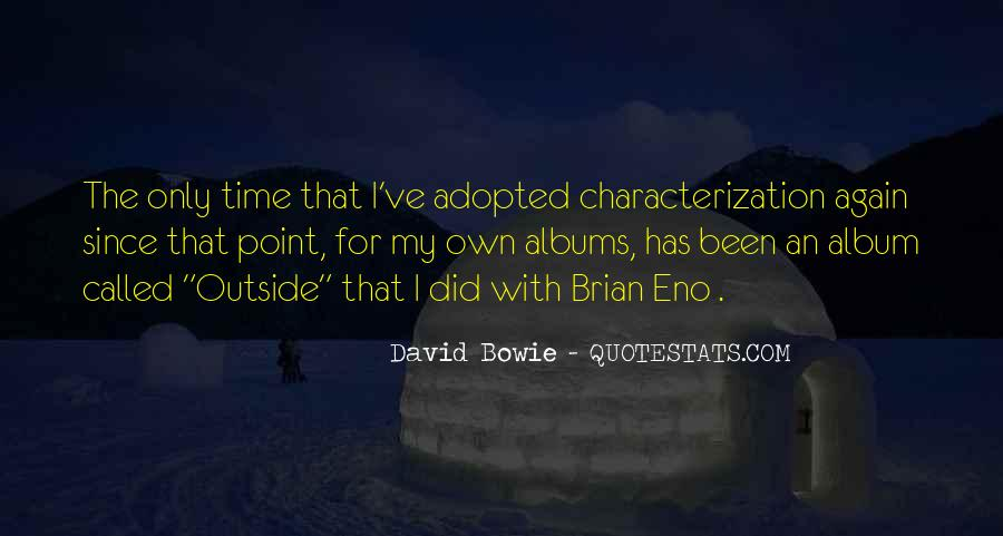 David Bowie Quotes #1174032