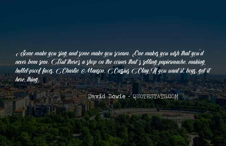 David Bowie Quotes #1435631