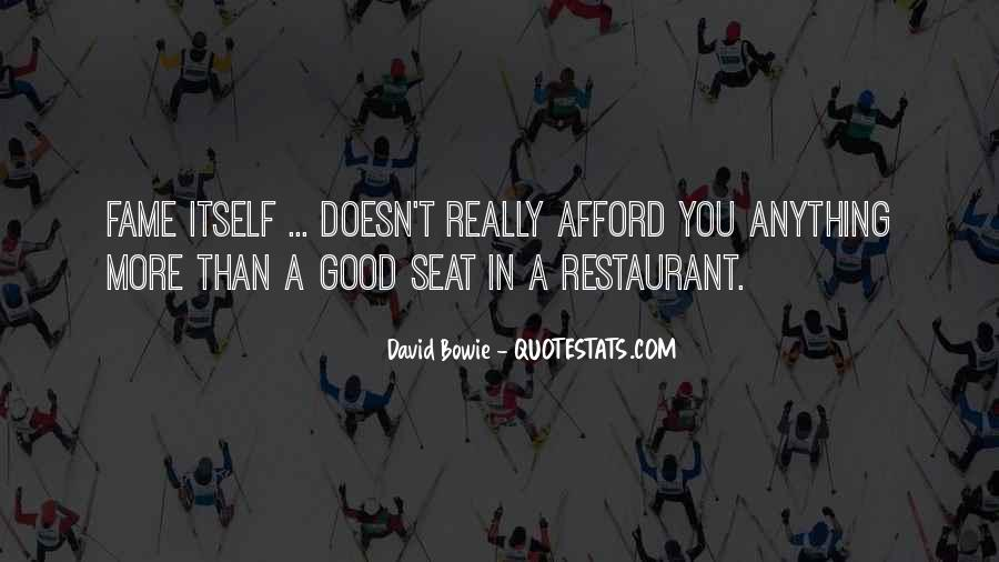 David Bowie Quotes #1497241