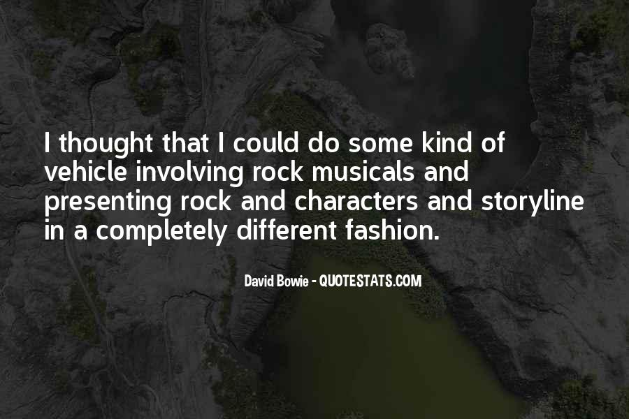 David Bowie Quotes #1536057