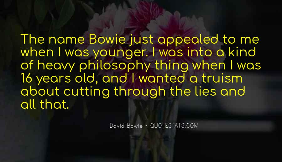 David Bowie Quotes #1697514