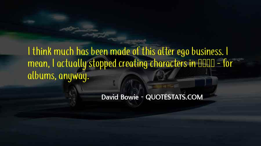 David Bowie Quotes #1829854