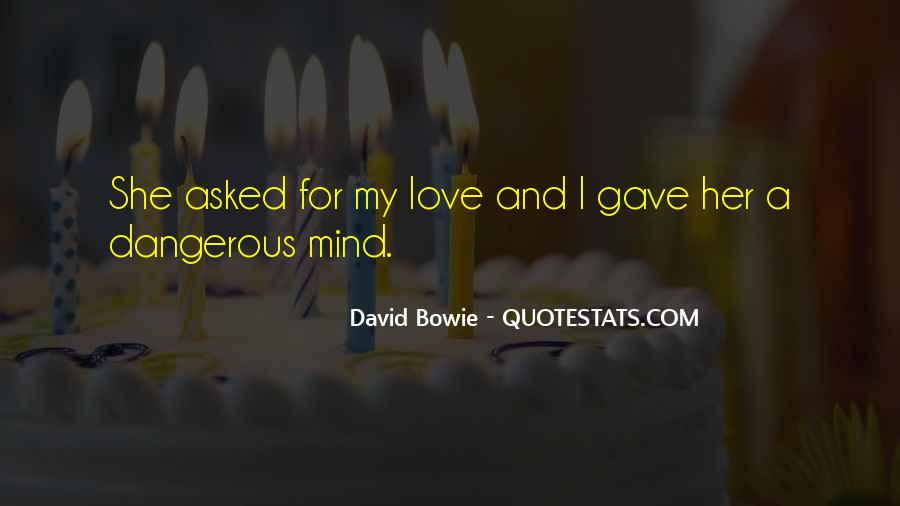 David Bowie Quotes #1840436