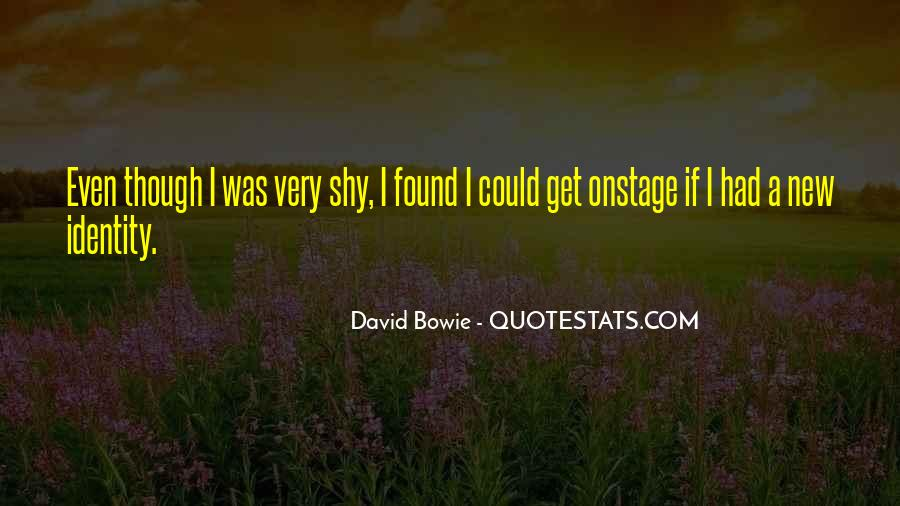 David Bowie Quotes #289814