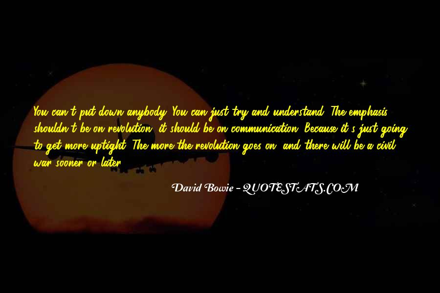 David Bowie Quotes #361310