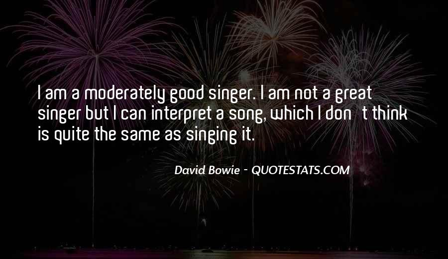 David Bowie Quotes #458139