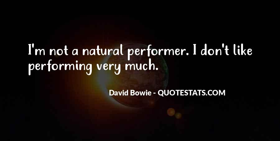 David Bowie Quotes #475235
