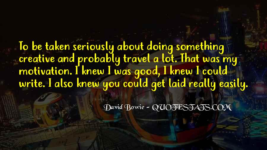 David Bowie Quotes #582334