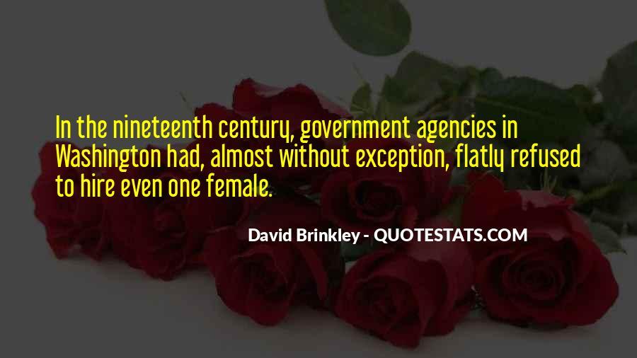David Brinkley Quotes #1666595
