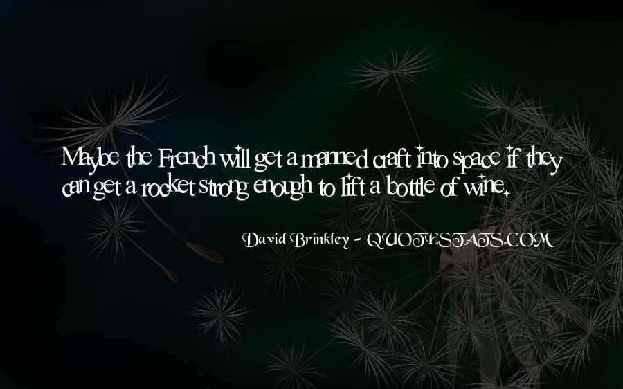 David Brinkley Quotes #283738