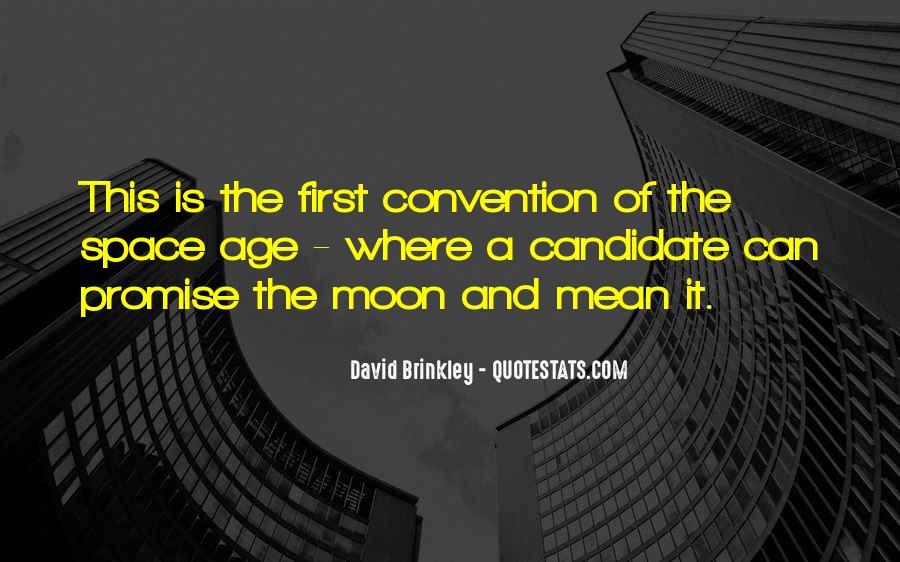 David Brinkley Quotes #375093