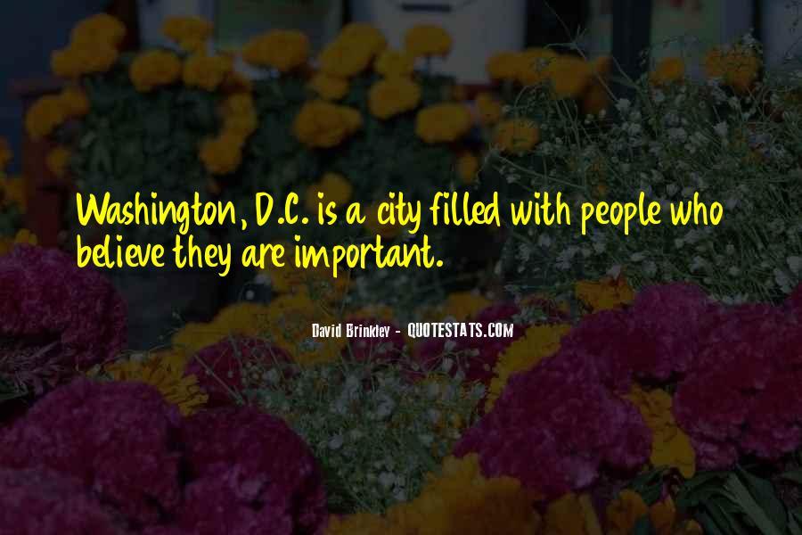 David Brinkley Quotes #83433