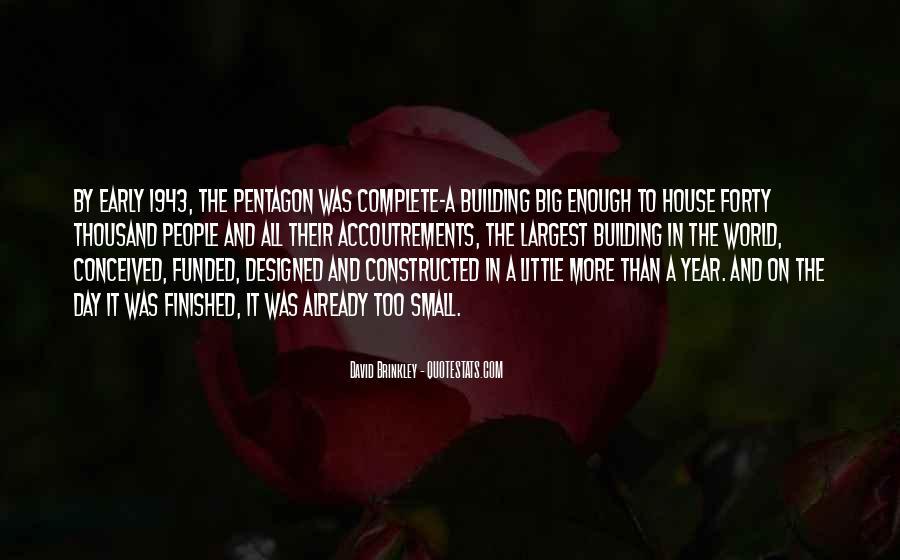 David Brinkley Quotes #853110