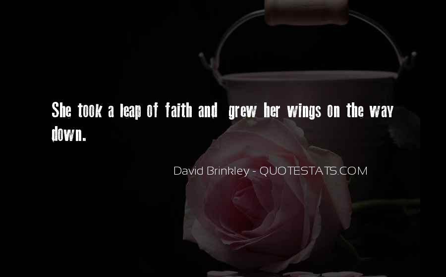 David Brinkley Quotes #923682