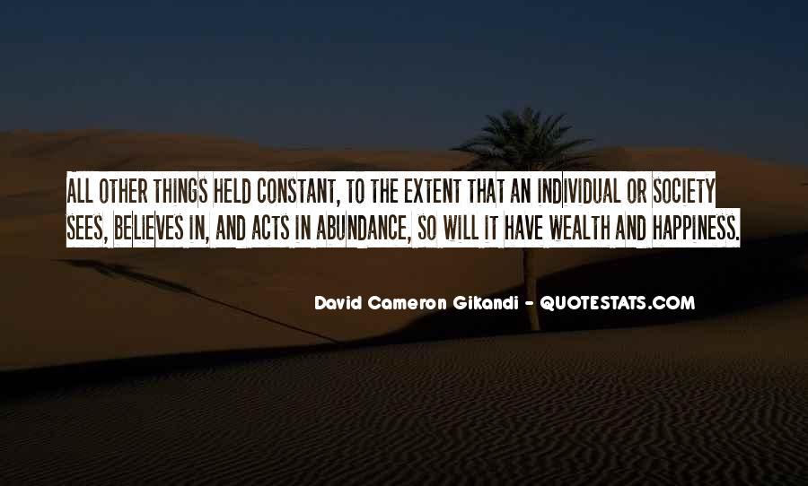 David Cameron Gikandi Quotes #501041
