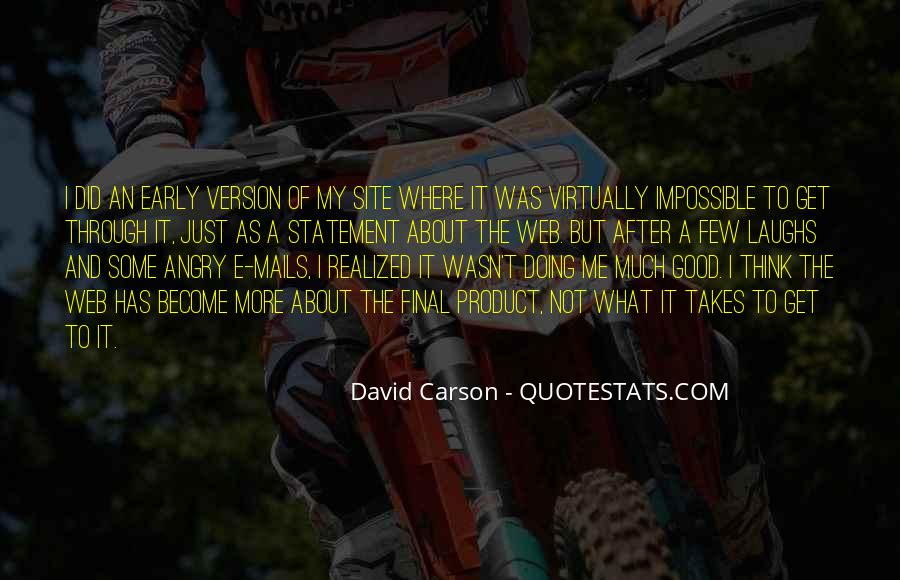 David Carson Quotes #726389