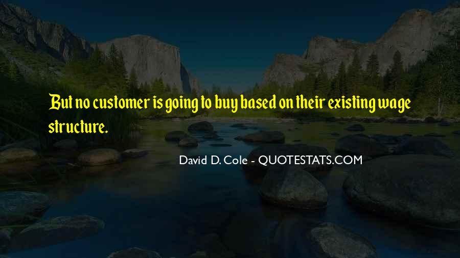 David D. Cole Quotes #356006