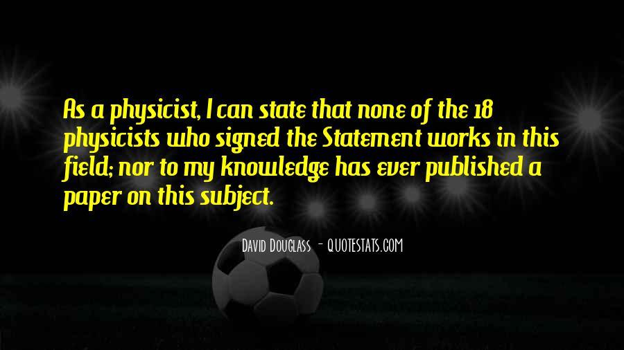 David Douglass Quotes #289767
