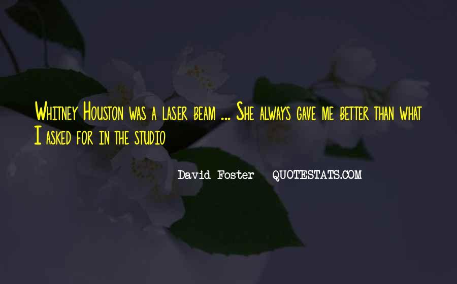 David Foster Quotes #45126