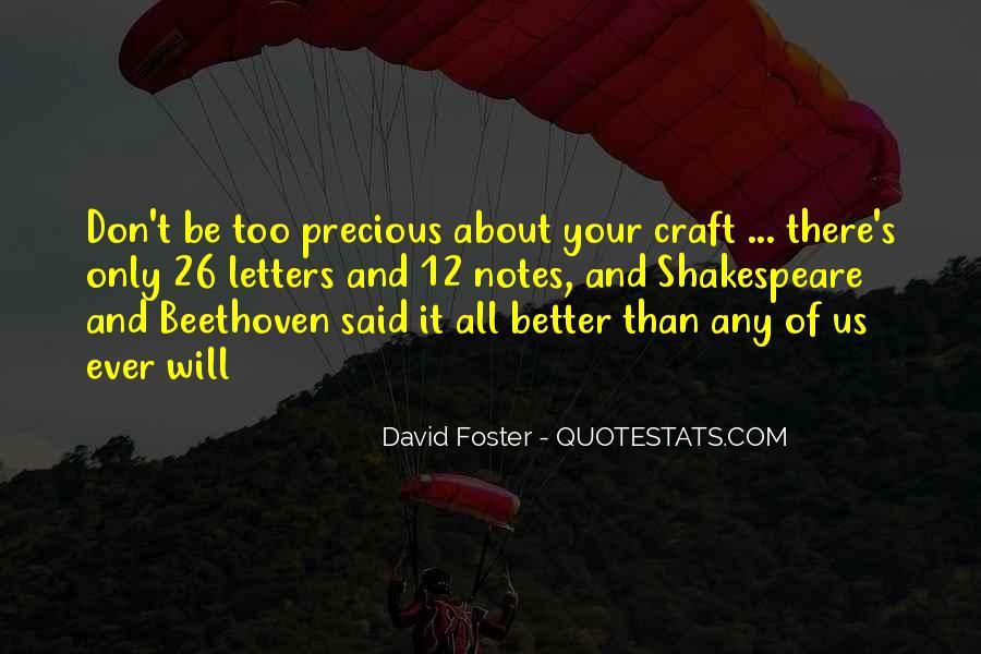 David Foster Quotes #601554