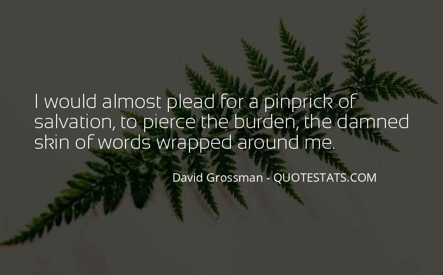 David Grossman Quotes #1481347