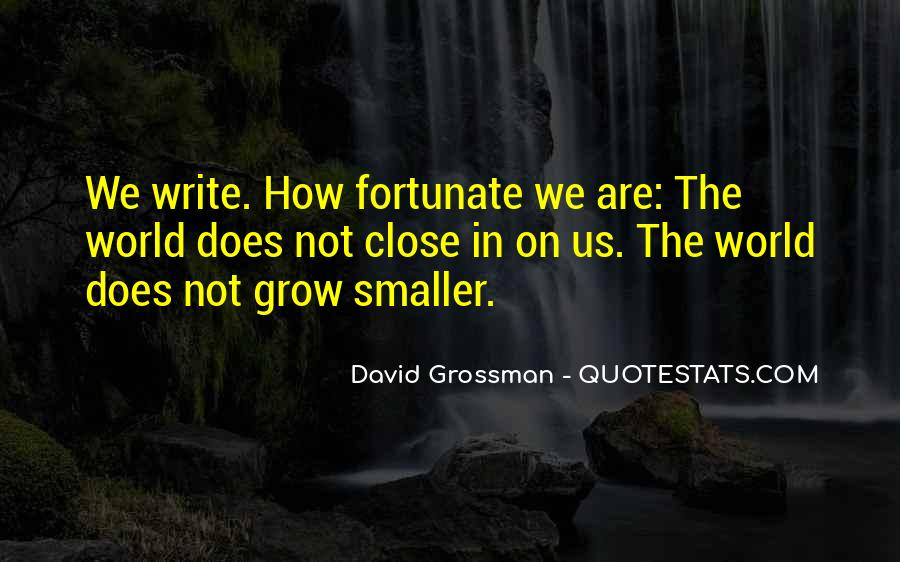 David Grossman Quotes #319478