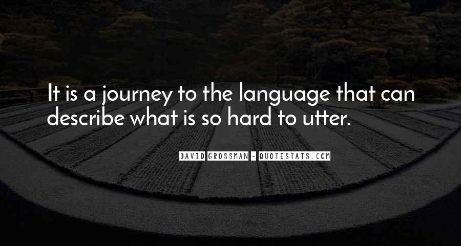 David Grossman Quotes #338177
