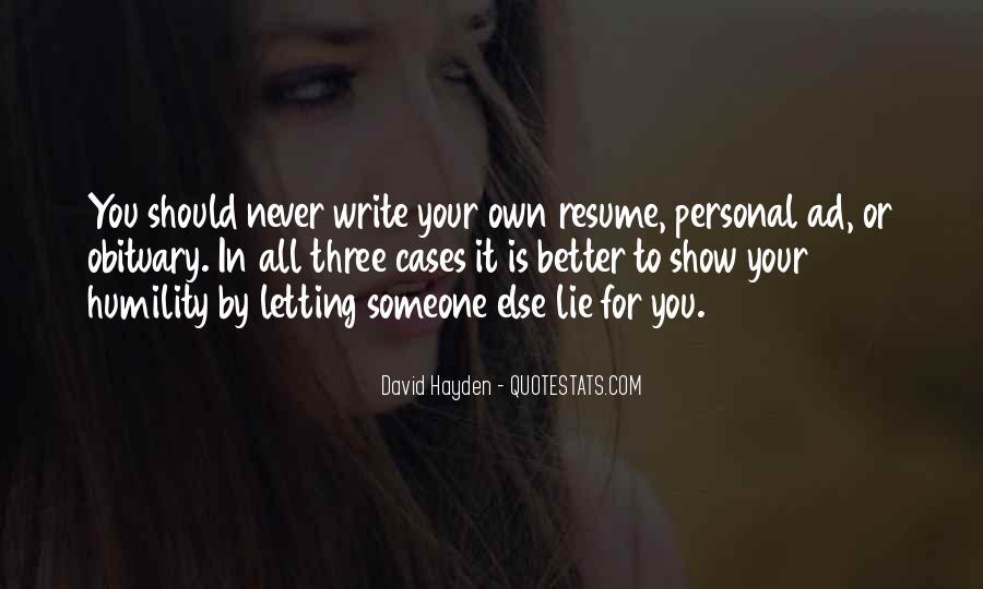 David Hayden Quotes #861807