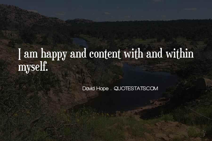 David Hope Quotes #523528