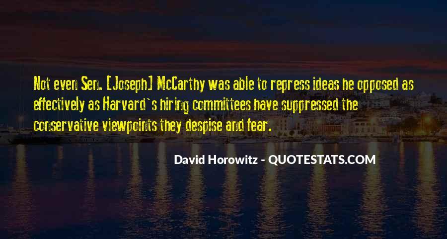 David Horowitz Quotes #1033694