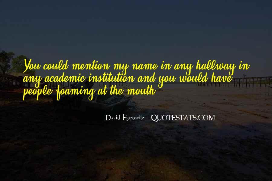 David Horowitz Quotes #1506478