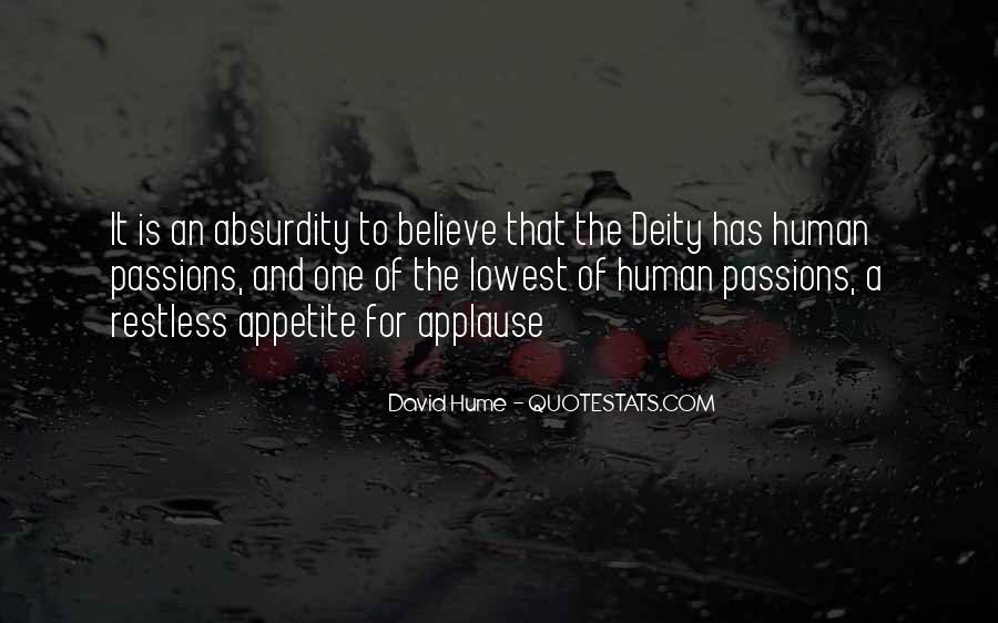 David Hume Quotes #520844